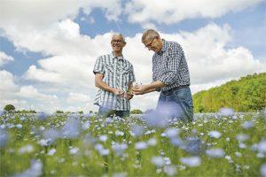 Hervé et Thierry, les agriculteurs à l'initiative du projet d'atelier de transformation de végétaux