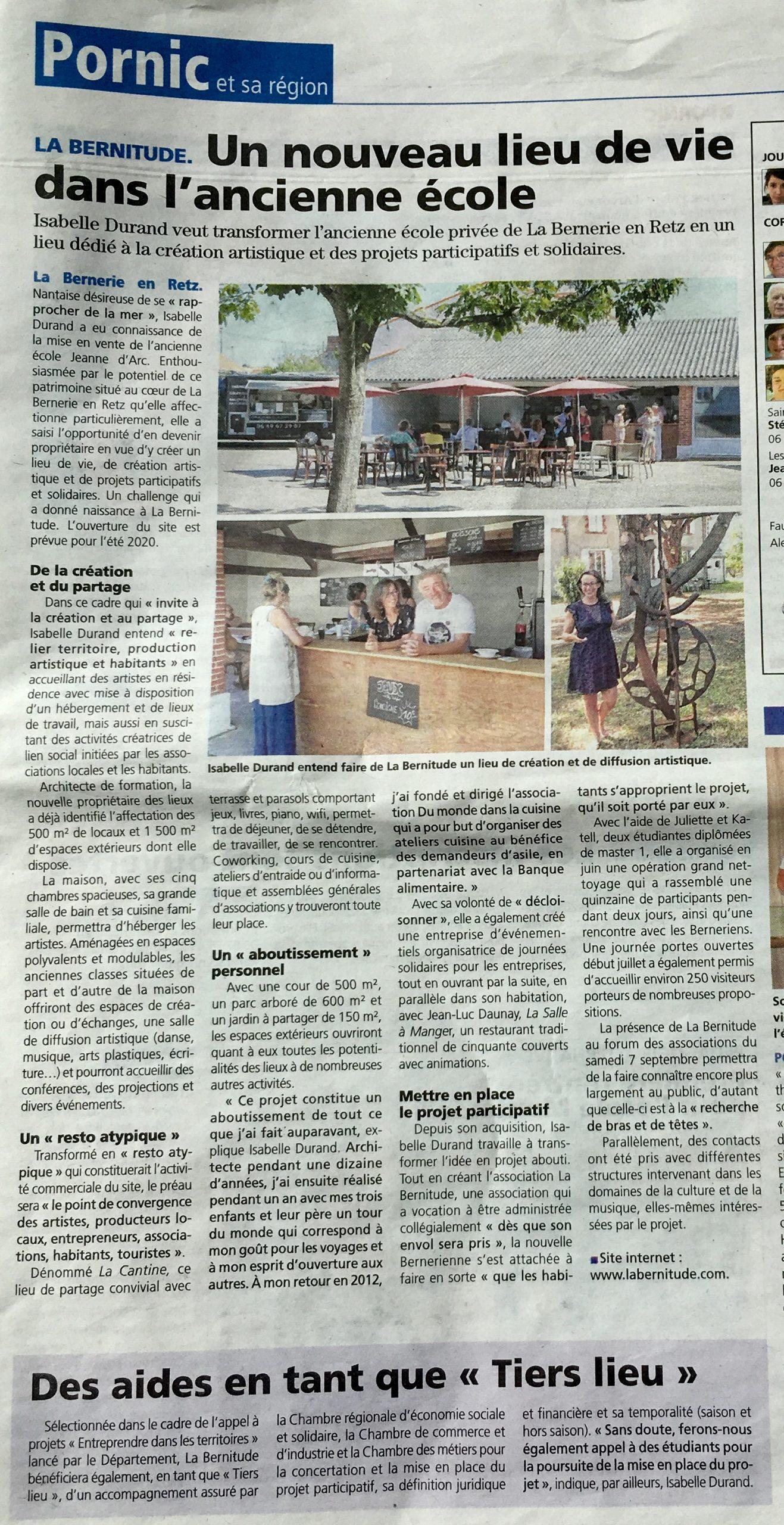 article La Bernitude